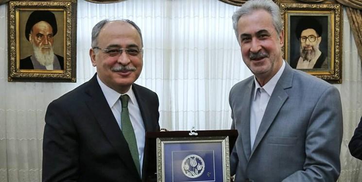 استاندار آذربایجان شرقی با رئیس دانشگاه قاضی آنکارا دیدار کرد