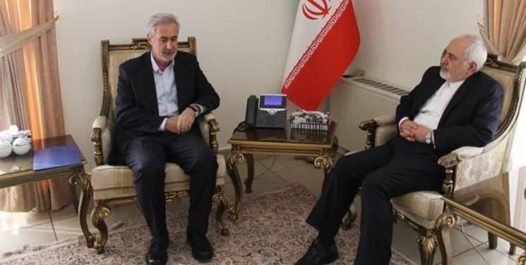 قدردانی ظریف از نگاه تعاملی مسؤولان استان به فعالیت های وزارت امور خارجه