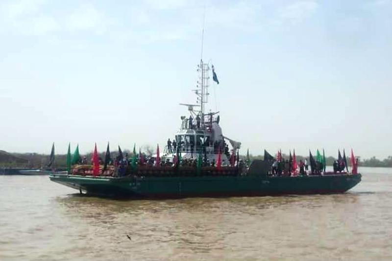 پیکر 115 شهید دفاع مقدس از مرز آبی خرمشهر به کشور بازگشت