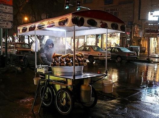 غذاهای خوشمزه خیابانی تبریز