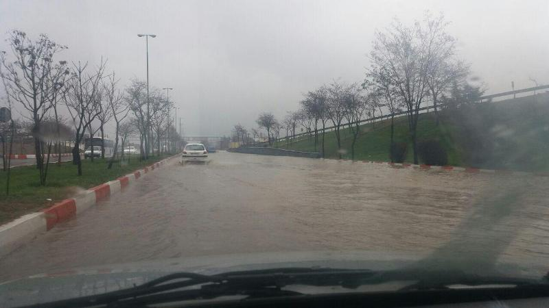 بارش شدید همراه با آبگرفتگی معابر در انتظار شمال شرق کشور