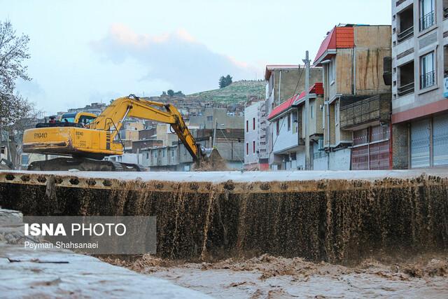 آخرین دادههای فضایی ایران از وضعیت دو حوضه آبی ایران بعد از بارندگیها