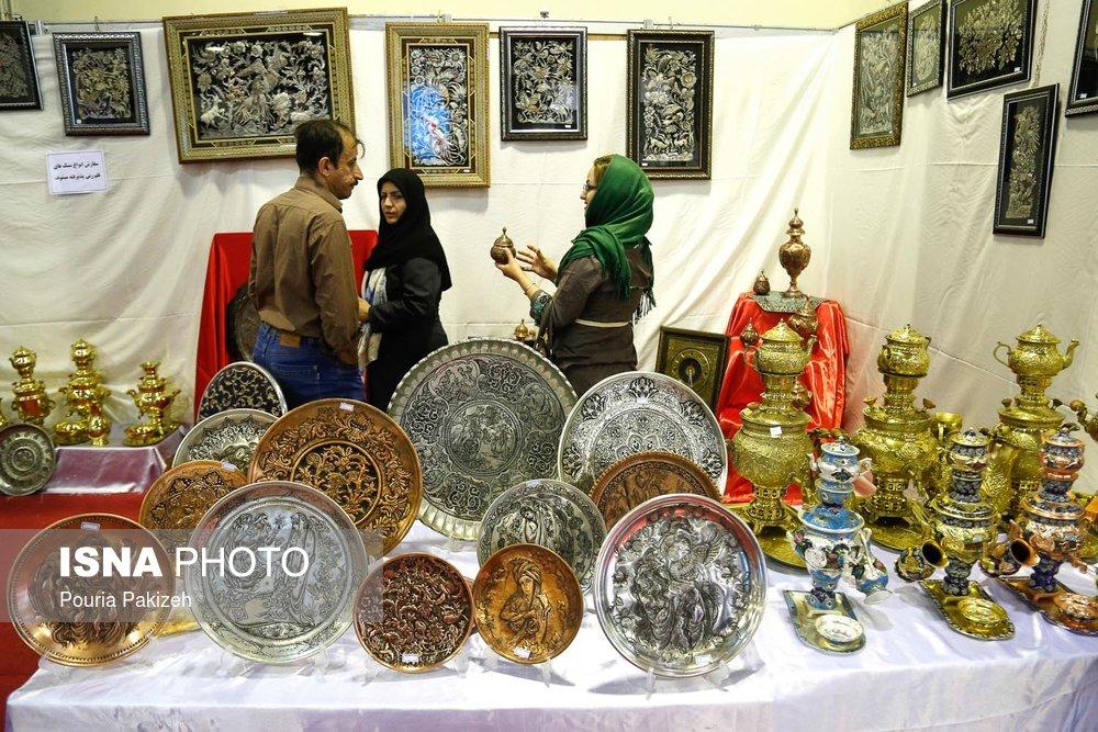 فروش 800 میلیون تومانی صنایع دستی در عید نوروز 98