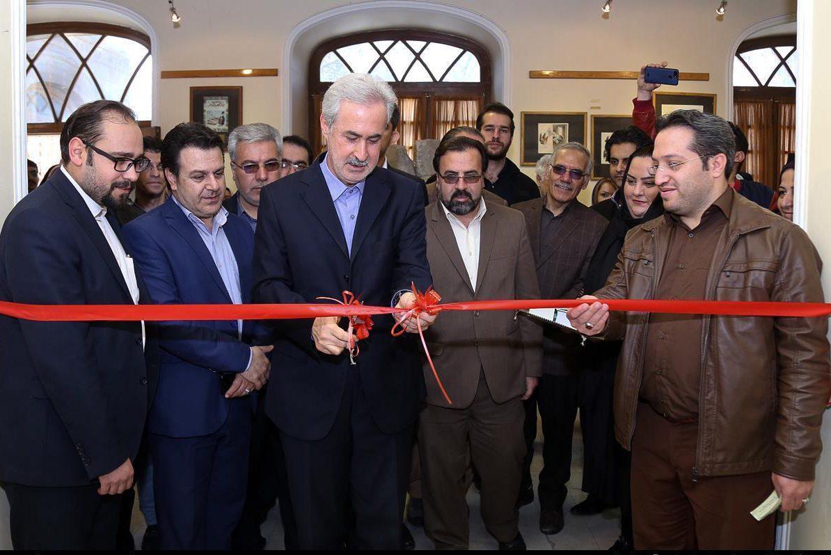 افتتاح نمایشگاه ملی کاریکاتور در خانه هنر تبریز