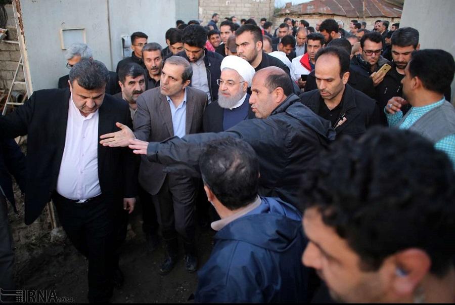 سیل ایران و سیلاب انتقادات سیاسی علیه دولت