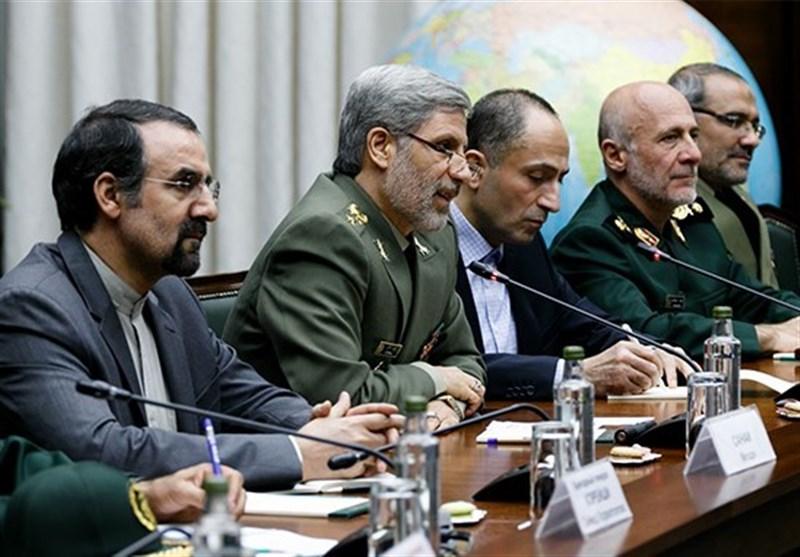 دیدار وزرای دفاع روسیه و ایران