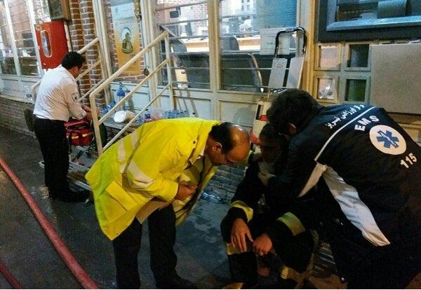 ۱۶ نفر در آتش سوزی بازار تبریز مصدوم شدند
