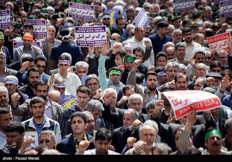 برگزاری راهپیمایی حمایت از بیانیه شورای عالی امنیت ملی