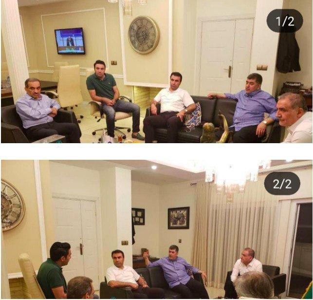 دلیل حضور بیگی در جلسه مدیران باشگاه تراکتور چیست؟