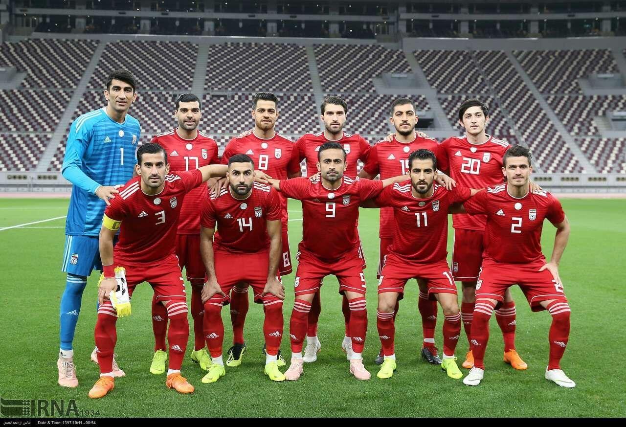 ویلموتس از لیست ملی پوشان فوتبال ایران رونمایی کرد