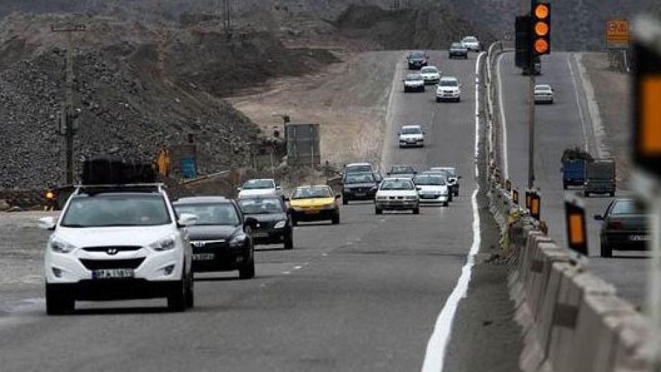 حجم ترافیک در محورهای مواصلاتی استان بالا است