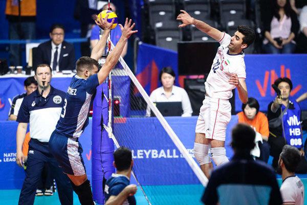 والیبال ایران، برنده مقتدر جدال با آرژانتین