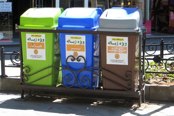 اجرای طرح گسترده تفکیک از مبدا در محدوده بازار تبریز