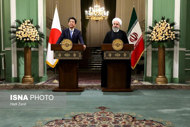 روحانی:اگر جنگی علیه ایران آغاز شود، پاسخی قاطع به آن خواهیم داد/شینزو آبه: اراده ژاپن توسعه روابط و همکاری با ایران است