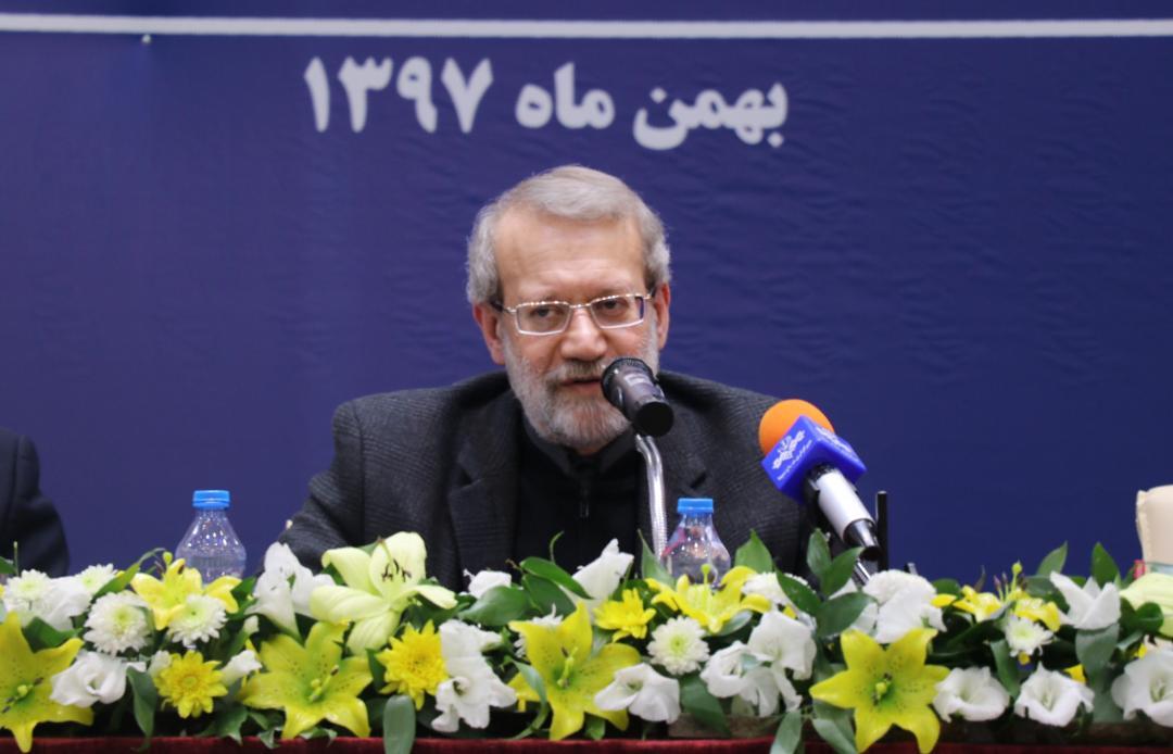 لاریجانی: حمله مشکوک به نفتکشها مکمل تحریمهای آمریکا علیه ملت ایران است