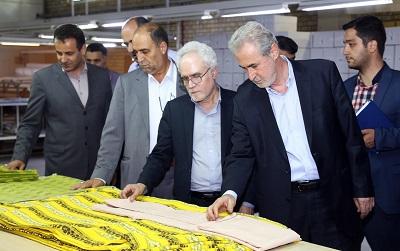 مدیریت ارشد استان در کنار مدیران واحدهای تولیدی و صنعتی
