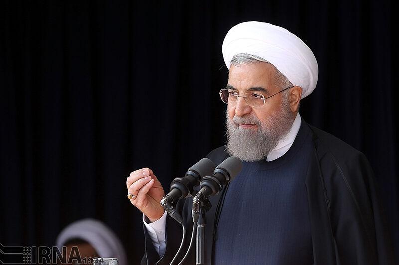 روحانی: همه مسیرهای آمریکا علیه ملت ایران منجر به شکست شده است