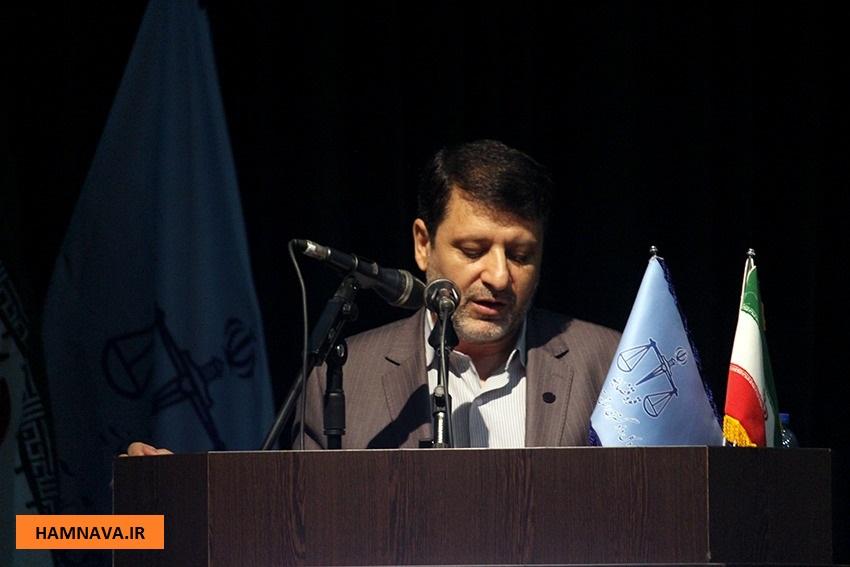 مراسم معارفه رئیس کل دادگستری استان/گزارش تصویری