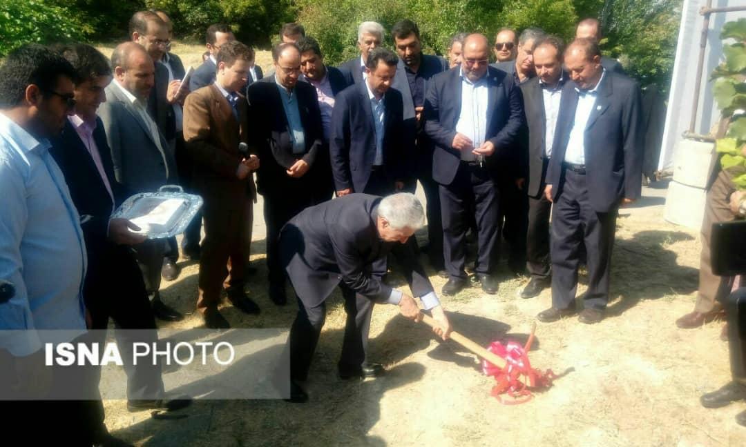 عملیات اجرایی سامانه تصفیه آب قنات دانشگاه تبریز کلنگزنی شد
