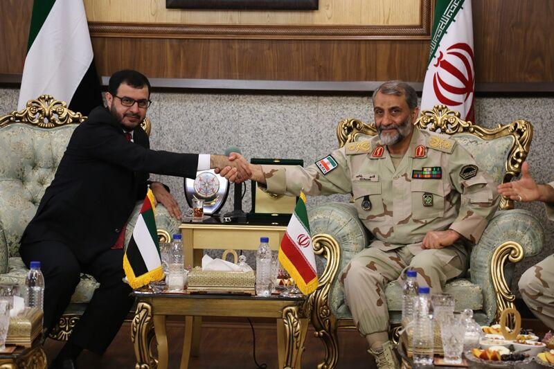 """سفر هیات مرزبانی """"امارات متحده عربی"""" به تهران"""