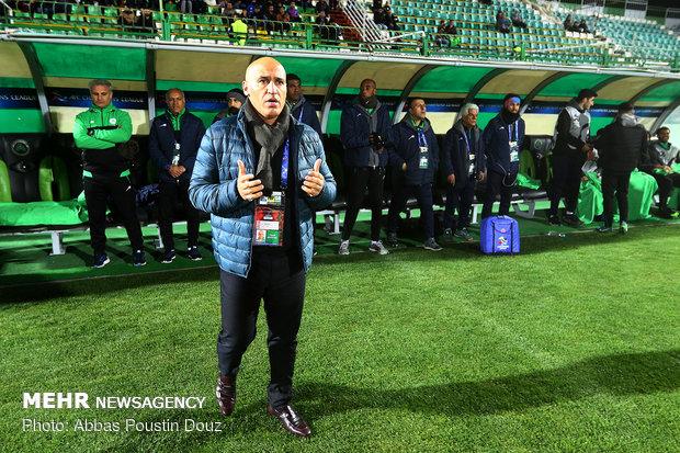 منصوریان بعد از باخت به الاتحاد: گل دوم الاتحاد تیری به قلب ما بود