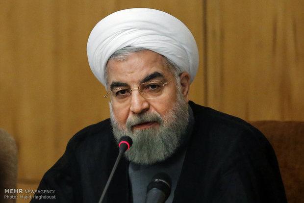 روحانی در جلسه هیئت دولت: تامین امنیت خلیج فارس نیازی به نیروی خارجی ندارد