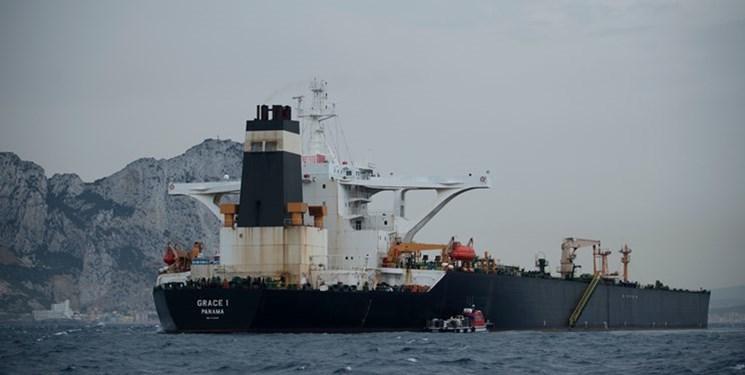 نفتکش ایرانی بعد از ۴۵ روز جبل طارق را ترک کرد