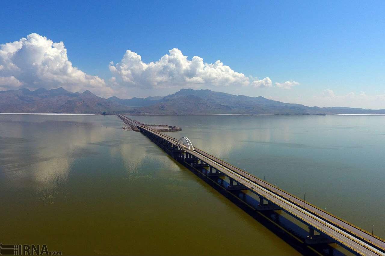 بهبود وسعت دریاچه ارومیه در همسنجی با سال قبل