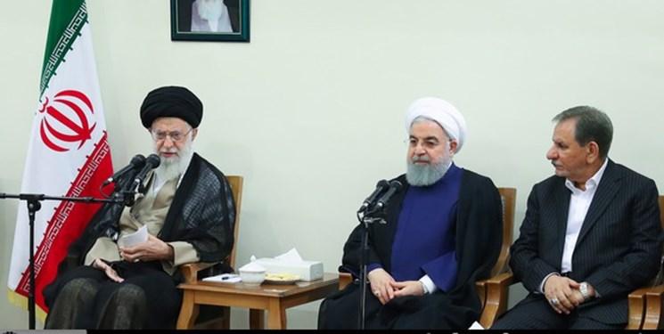 اعضای هیئت دولت با رهبر معظّم انقلاب دیدار کردند