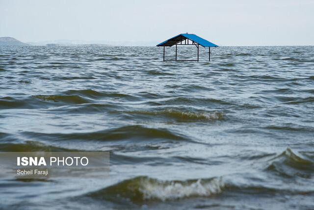 حال خوب دریاچه ارومیه با بارندگیهای سیلآسای امسال