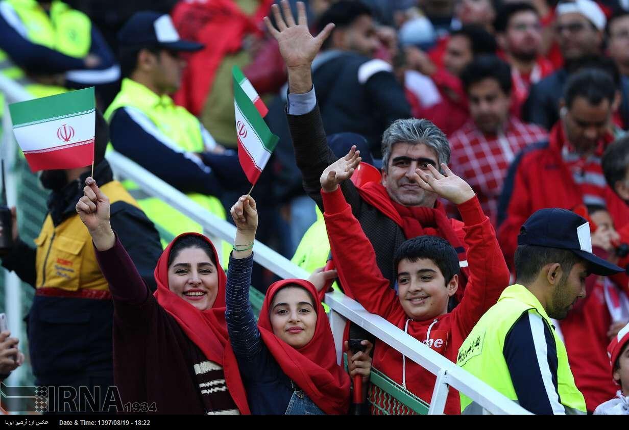 زنان ۱۸ مهرماه در ورزشگاه آزادی حضور می یابند
