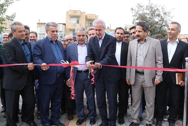پارک کوهستان و پارک شهید مدافع حرم حامد جوانی افتتاح شد