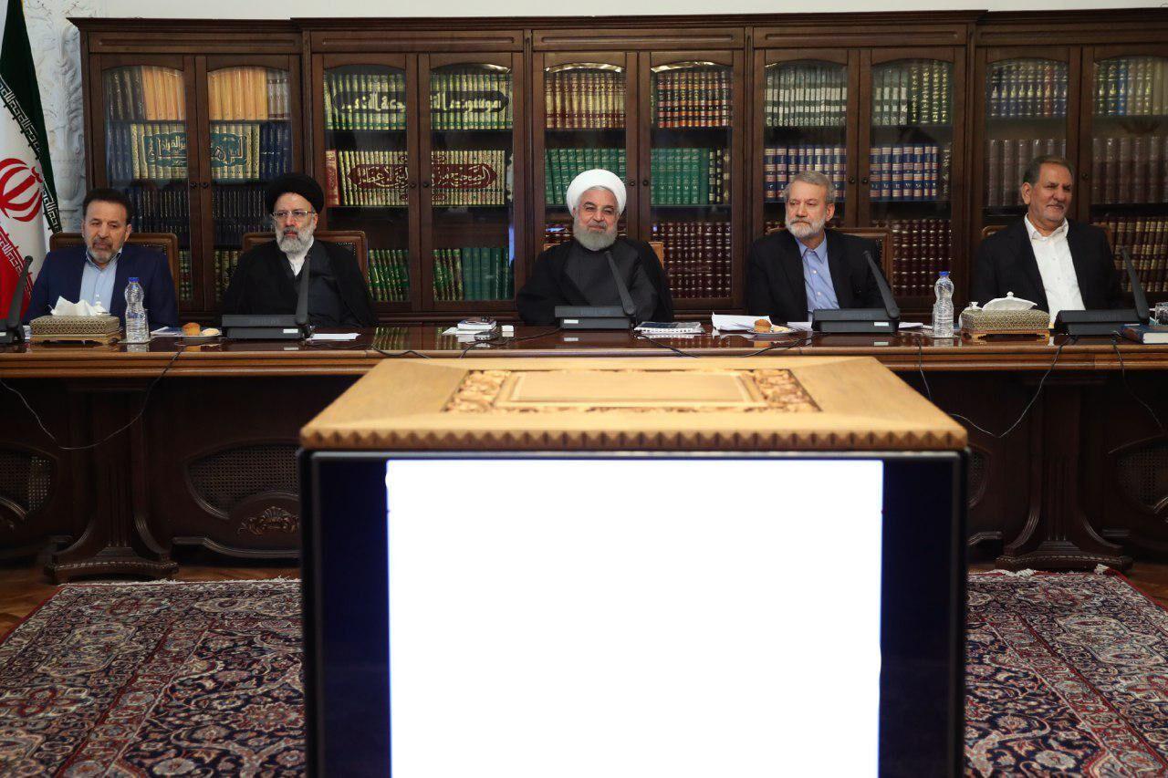 جلسه شورایعالی هماهنگی اقتصادی با حضور سران قوا برگزار شد