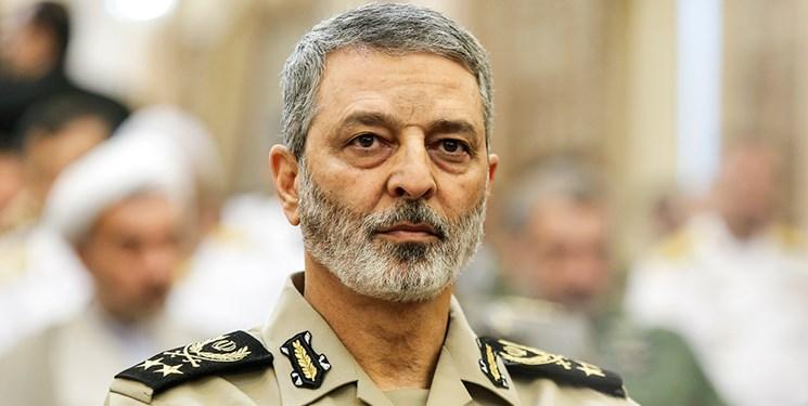 سرلشکر موسوی: امنیت و آرامش بر مرزهای میهن اسلامی حاکم است