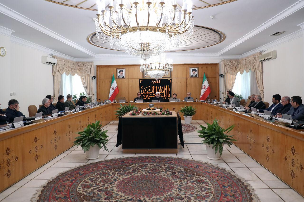روحانی در جلسه هیات دولت: جزئیات گام سوم کاهش تعهدات امروز یا فردا اعلام میشود