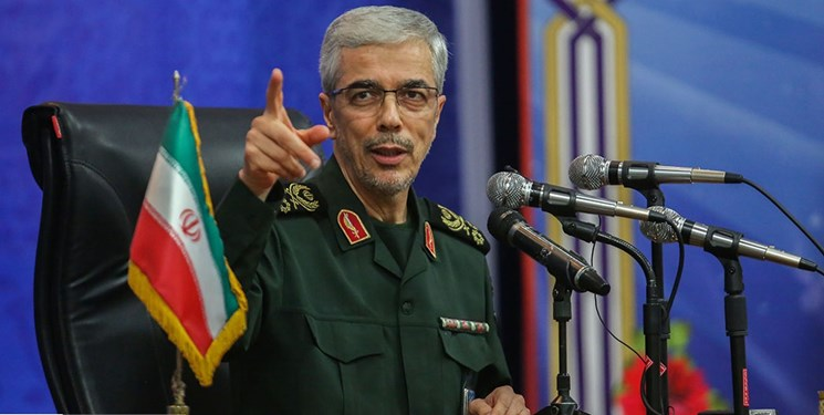 سرلشکر باقری: ارتش آمریکا ترامپ را برای جلوگیری از حمله به ایران توجیه کرد