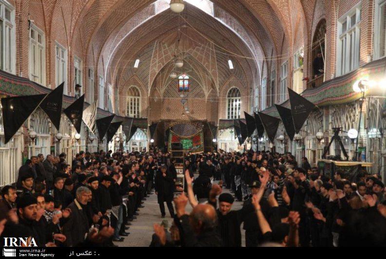 فعالیت 5000 هیات شاهحسینگو در ایام محرم در تبریز
