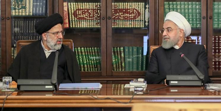اعتراض روحانی به رئیسی
