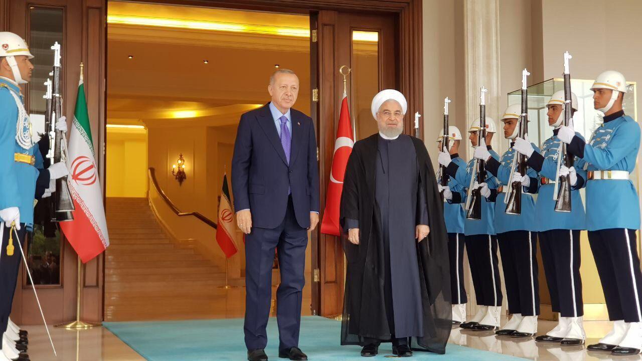 روحانی با رئیس جمهور ترکیه دیدار کرد