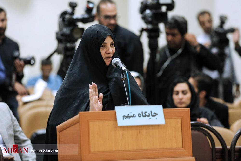 شبنم نعمتزاده در دادگاه: پدرم وزیر بود ولی ۵ سال بیکار بودم
