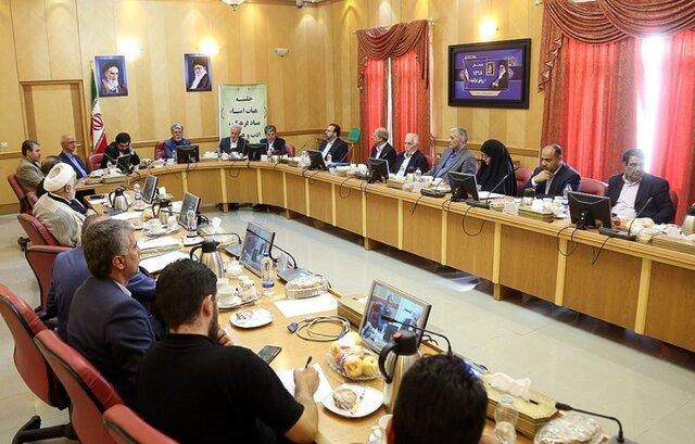 جلسه هیأت امنای بنیاد فرهنگ، هنر و ادب آذربایجان برگزار شد