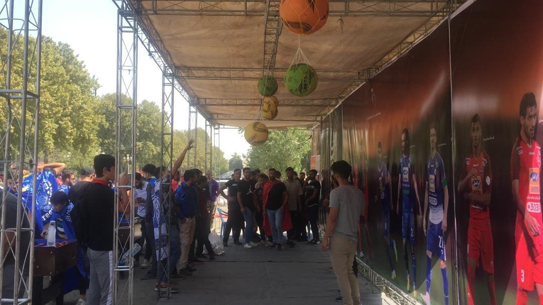 شهرآورد پایتخت؛ امکانات تفریحی و ممانعت از ورود هواداران بدون بلیت