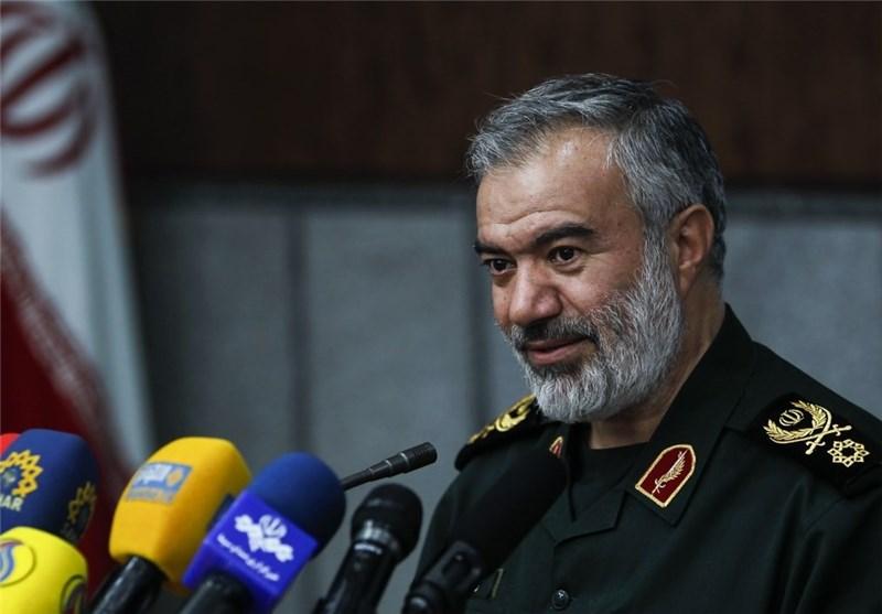 جانشین فرمانده کل سپاه: خویشتنداری ایران در برابر برخی اقدامات به دلیل حفظ حرمت اسلام است