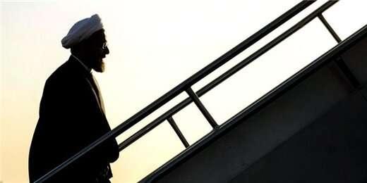 روحانی عازم نیویورک شد +برنامههای سفر