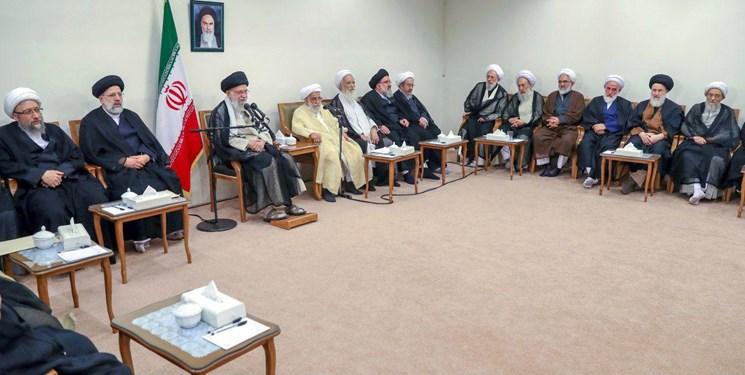 اعضای مجلس خبرگان با رهبر انقلاب دیدار کردند