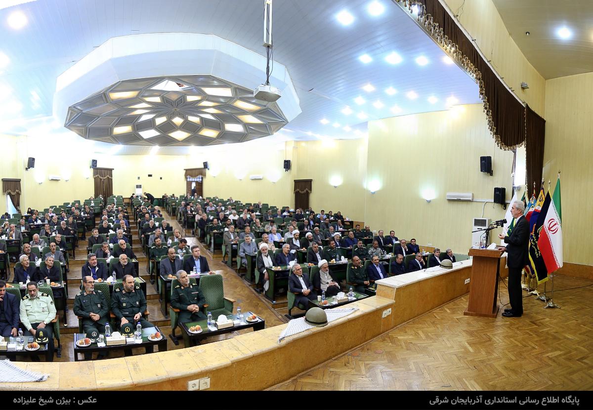 استاندار آذربایجان شرقی: زمان، زمانه عافیتطلبی نیست