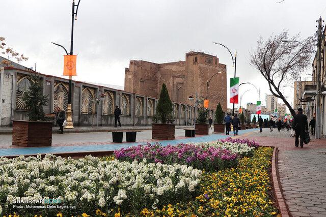 پیاده راههای تبریز، گذرگاه فرهنگ و هنر میشود