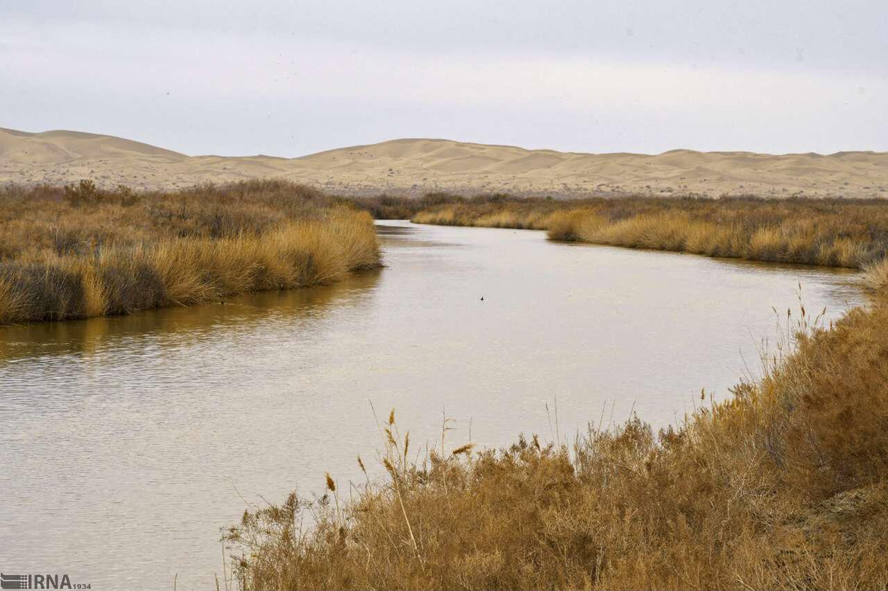 تبسم تالاب بینالمللی گاوخونی پس از سالها غم خشکسالی