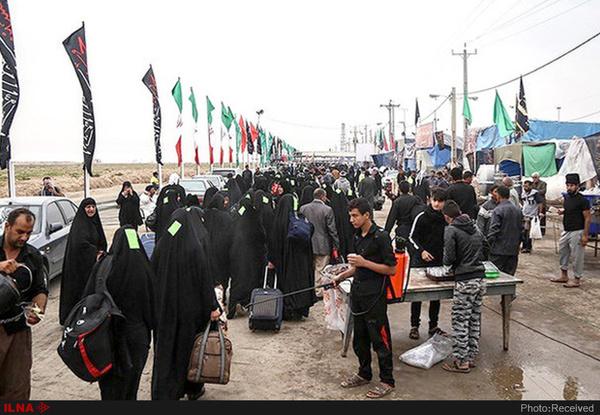جانباختن ۶۵ زائر ایرانی در عراق