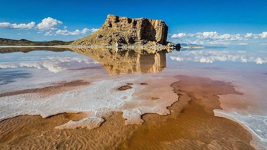 افزایش 105 سانتی تراز دریاچه ارومیه